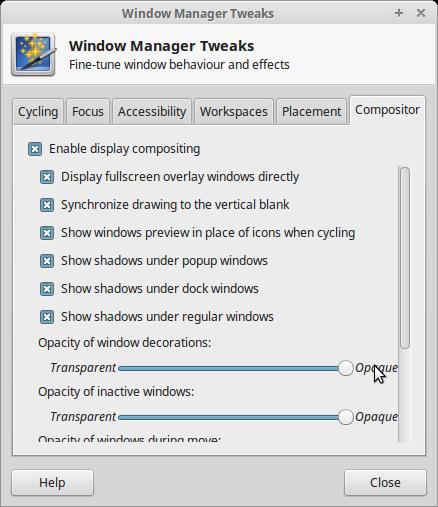 Some ways to fix tearing on Linux Mint XFCE + Intel HD